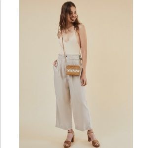 UO   High-Rise Double-Buckle Pant